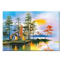 Tranh Treo Tường PHONG CẢNH ĐẸP HỮU TÌNH Q6D8 - 17 (35 x 50 cm) Thế Giới Tranh Đẹp