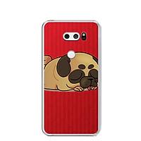 Ốp lưng dẻo cho điện thoại LG V30 - 0316 CUTEDOG03 - Hàng Chính Hãng