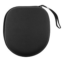 Headphone Case, Zipper Hard Travel Portable Headphone Carrying Case, Perfectly Fit for SONY MDR-1R, MDR-1RMK2, MDR-10R, MDR-10RBT,ATH-FW5, FC707, ATH-SJ1, SJ3, sj5, SJ55 Black