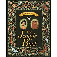 Sách: Search and Find The Jungle Book , cậu bé rừng xanh - Sách Tương Tác - Vừa đọc truyện vừa đóng vai