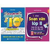 Combo 2 sổ tay kiến thức Toán Lí Hóa Anh lớp 11 và Sổ tay Soạn Văn 11 phân tích tác phẩm, ôn tập Tiếng việt