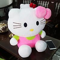 Gấu Bông Mèo Kitty (50 Cm) Gb48 (Màu Hồng)