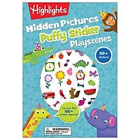Hidden Pictures Puffy Sticker Playscenes (Highlights Puffy Sticker Playscenes)