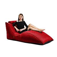 Ghế Lười Hạt Xốp Flamingo - indoor beanbag lounger Chất Liệu Vải Nhập Khẩu Từ Bỉ  Màu Đỏ -  Tarujo