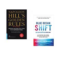 Combo 2 cuốn sách: Những Nguyên Tắc Vàng Của NAPOLEON HILL + Blue ocean shift - Cuộc dich chuyển đại dương xanh