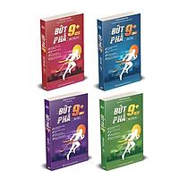 Combo 4 cuốn Sách bứt phá 9+ môn Toán, Lí, Hóa, Anh lớp 11