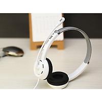 Tai nghe trùm đầu có dây có mic chân cắm 3.5 DT326 - Hàng nhập khẩu