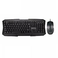 Bộ phím chuột văn phòng/ game Bosston S6600 đen - Hàng nhập khẩu