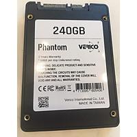 Ổ cứng SSD Verico Phantom sata III 240Gb Black - Hàng Chính Hãng