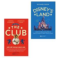 Combo Giải Mã Ngành Công Nghiệp Giải Trí Siêu Lợi Nhuận: Giải Mật Ngoại Hạng Anh + Disney's Land