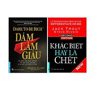 Combo 2 Cuốn Sách: Dám Làm Giàu + Khác Biệt Hay Là Chết