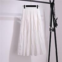 Chân váy xòe dáng dài vải mềm dễ thương free size VAY106