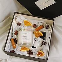 Nến thơm handmade cao cấp và tinh dầu hộp quà tặng đặc biệt First Sight Box