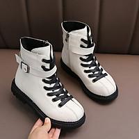 Giày Boot cho bé gái phong cách sành điệu size  từ 3 - 13 tuổi - GBT90