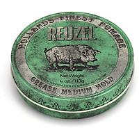 Sáp Vuốt Tóc Reuzel Green Pomade 113g - Hàng chính hãng