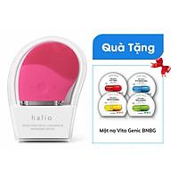 Máy Rửa Mặt Và Mát Xa Da Mặt Halio tặng 01 Mặt Nạ BNBG Vita Genic Jelly Mask bất kỳ
