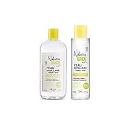 Combo 2 lọ nước tẩy trang Natury Bio I'Eau Micellar Water For Oily & Mixte Skin dành cho da dầu và da hỗn hợp