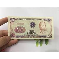 20 đồng 1985 chùa một cột, tiền đẹp, tặng phơi nylon bảo vệ