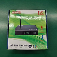 Android Tivi Box NETBOX B2 Ram 1Gb Rom 8Gb 4K UltraHD - Hàng Chính Hãng