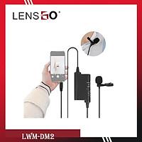 Micro Thu Âm Cài Áo LENSGO LYM-DM2 - Chính Hãng