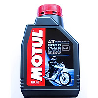 Nhớt Xe Số Motul 3000 Plus 4T 20W50 - Thể Tích 800 ml