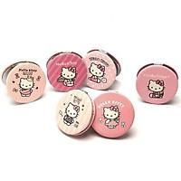 Gương gập tròn Hello Kitty 6cm - 1 chiếc (giao ngẫu nhiên)