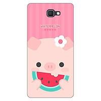 Ốp lưng dẻo cho Samsung Galaxy J7 Prime _Pig 04