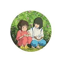 Huy hiệu Anime Chihiro and Haku Spirited Away Vùng đất linh hồn