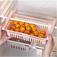 Khay đựng thực phẩm, khay phụ đa năng, tiện lợi cho tủ lạnh,tiết kiệm diện tích-GD386-KTL-DChinh (màu ngẫu nhiên)