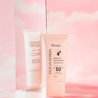 Kem chống nắng HEMIA dưỡng trắng nâng tone SPF50+ 100% tự nhiên, Thấm mướt nhanh, mịn màng nhập khẩu chính hãng Hàn Quốc
