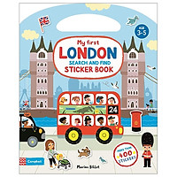 My First Search And Find London Sticker Book