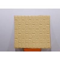 Bộ 10 Miếng xốp đẹp dán tường cách âm, cách nhiệt 3D phong cách Hàn Quốc - khổ 70x77cm