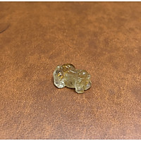 Tỳ hưu phong thủy đá Thạch Anh Tóc vàng Thiên nhiên 100%