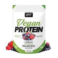BỘT ĐẠM THUẦN CHAY HƯƠNG VỊ  HỖN HỢP QUẢ ĐỎ QNT Vegan Protein Red Fruit Party