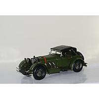 Mô hình xe hơi, xe ô tô cổ điển kim loại trưng bày/ Vintage Metal Car handmade Decoration (1904E-7777)