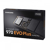 Ổ Cứ́ng SSD Samsung 970 EVO PLUS 250GB M2 2280 PCIe NVMe MZ- V7S250BW- Hàng Nhập Khẩu