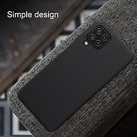 Ốp lưng cho Samsung Galaxy A22 4G, A22 5G dạng sần chống bám mồ hôi dấu vân tay - Hàng chính hãng