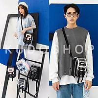 Túi bin trong đeo chéo nam nữ mini họa tiết chữ bama thời trang unisex_kudoshop
