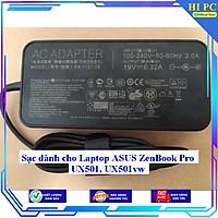 Sạc dành cho Laptop ASUS ZenBook Pro UX501 UX501vw - Hàng Nhập khẩu