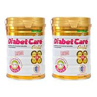 Combo 2 hộp Sữa bột Nutifood DiabetCare Gold 900g – DD cho người bị tiểu đường