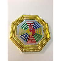 Gương Bát Quái - nhựa 19x19 cm