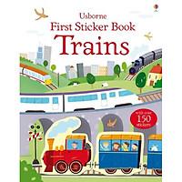 Sách tương tác tiếng Anh - First Sticker Book: Trains