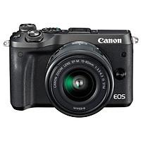 Canon EOS M6 (15-45) Mini Interchangeable Mirror Digital Camera Black