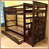 giường 2 tầng hộc kéo 1m Juno Sofa
