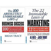 Sách - Combo 22 quy luật bất biến trong marketing + 100 quy luật bất biến để thành công trong kinh doanh - FirstNews