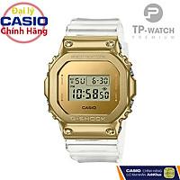 Đồng Hồ Nam Casio G-Shock GM-5600SG-9DR Chính Hãng - Dây Nhựa | G-Shock GM-5600SG-9D Gold Bezel