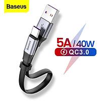 Cáp sạc và truyền dữ liệu tốc độ cao Baseus Simpke HW Quick Charge Cable - Hàng Chính Hãng