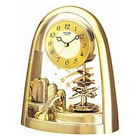 Đồng Hồ Để Bàn Rhythm 4SG607WS65 - Vàng (19.7 x 24.0 x 9.6 cm)