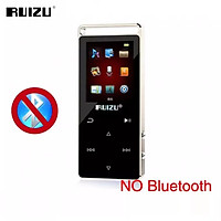 Original RUIZU D01 MP4 Player 8G Bluetooth Walkman Screen Touch Key All Aluminum Alloy Music Player With Speaker Support Video Meter Recorder E-Book Video Players