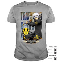 Áo Thun Trafalgar D. Water Law Cực Chất   Áo Thun Đảo Hải Tặc One Piece   One Piece T-shirt
